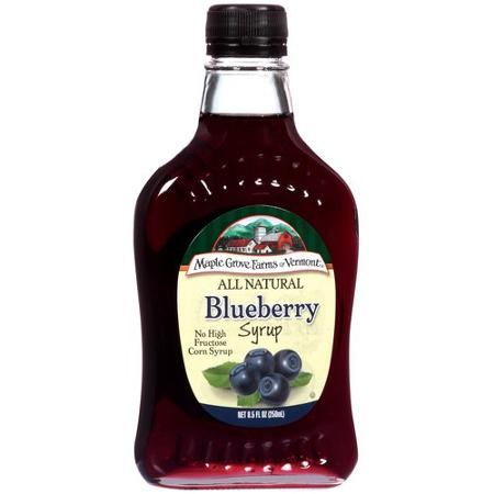 Syrup blueberry